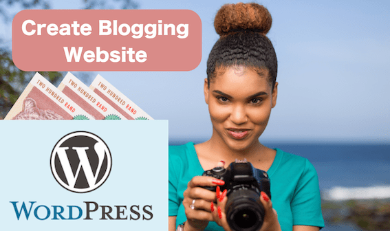Create Wordpress Website Make Money Online Blogging