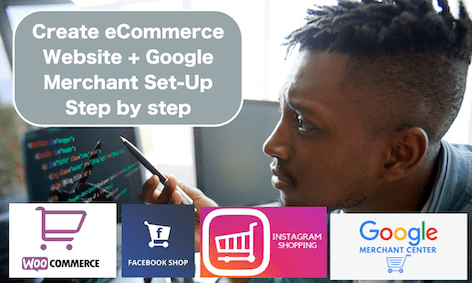 Create ECommerce Store Google & Facebook Shopping