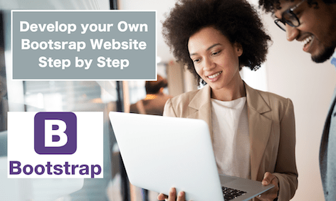Create Bootsrap Website Step By Step Tutorial