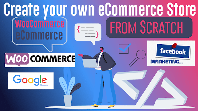 😁Create ECommerce💵 WooCommerce Store Sell Stuff