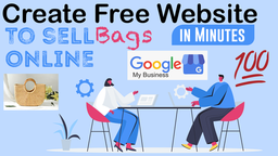 Sell💵 Products Online With Free Google Website😍